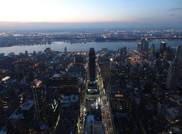 Uitzicht vanaf Empire State Building New York